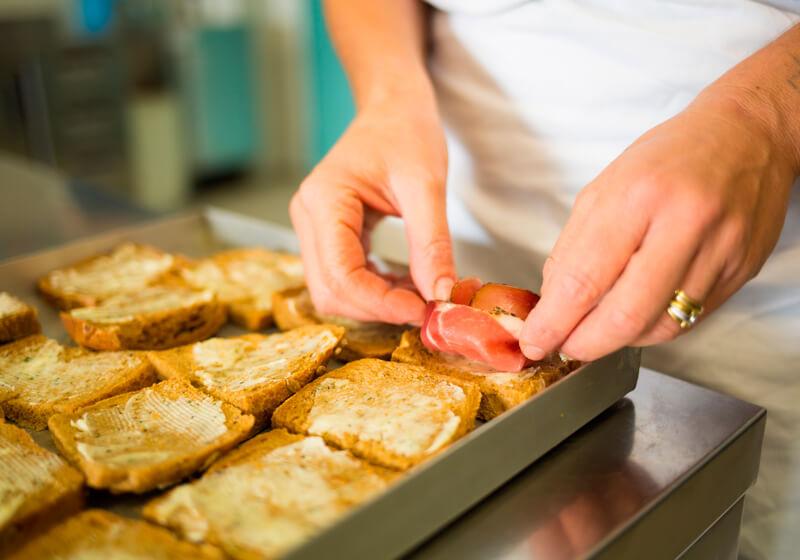 Preparazione cibo