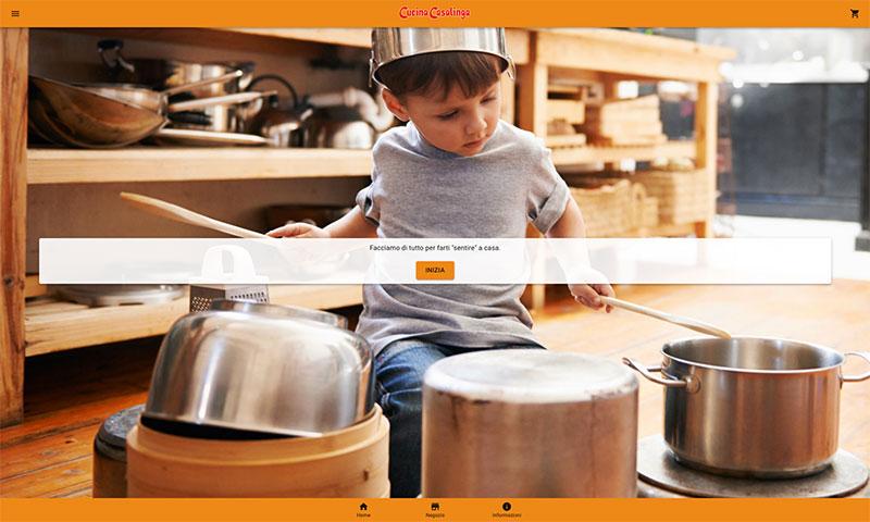 Home page e-shop