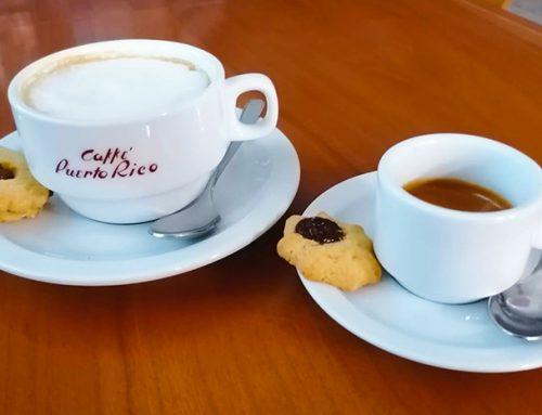 Un buon caffè, il modo migliore per concludere il pranzo