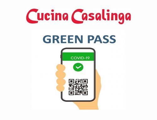 DA OGGI 23/08/2021 ACCESSO CON GREEN PASS